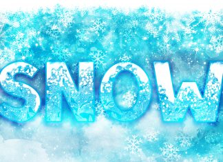 SNOW Font Family for Christmas