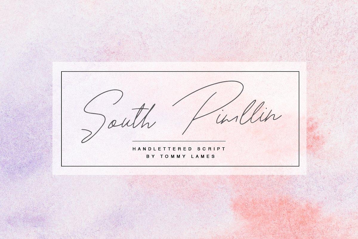 South Pimllin Font