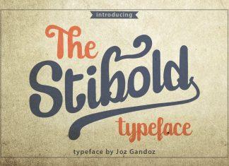 Stibold Typeface Font