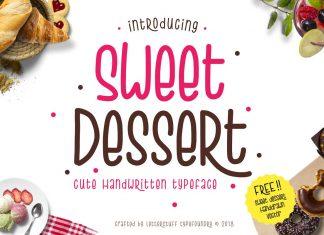 Sweet Dessert Typeface