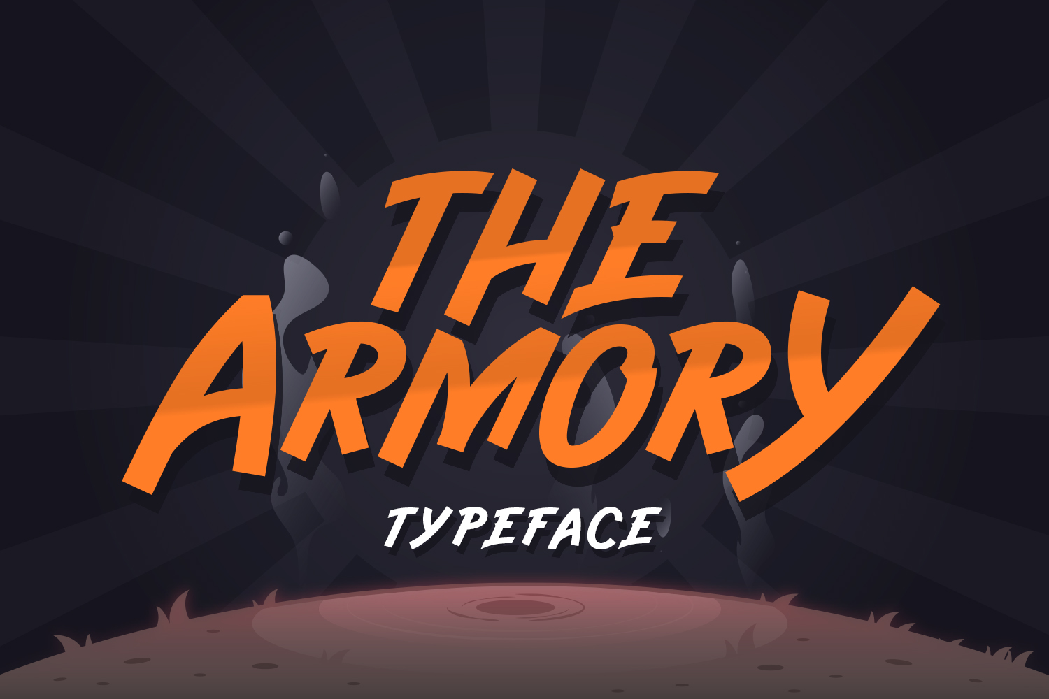 The Armory Regular Font