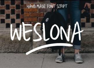 Weslona Font