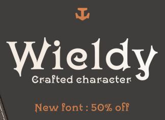Wieldy Serif Font