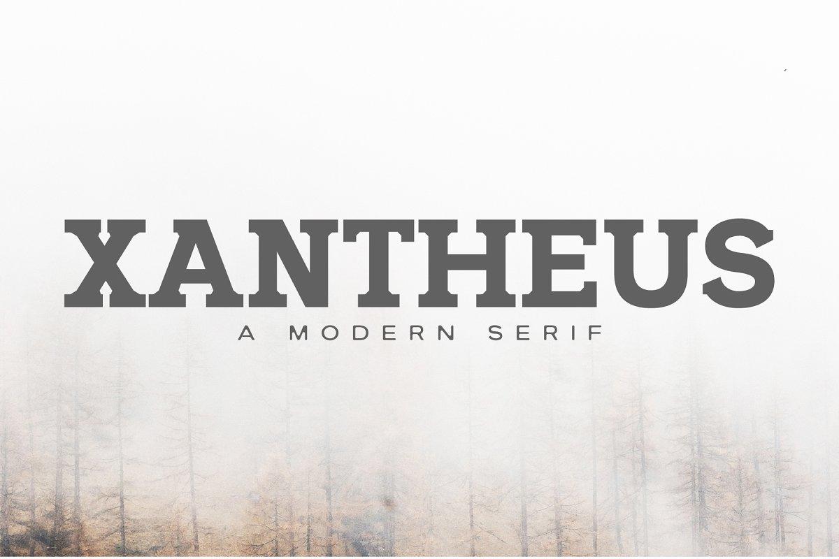 Xantheus Serif Font Family