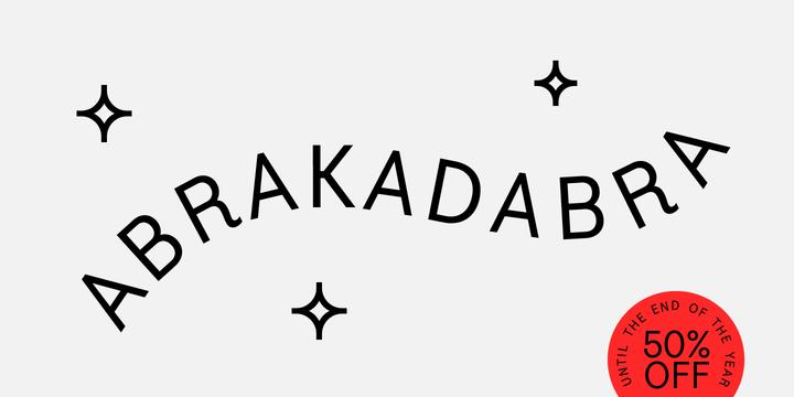 Abakadabra Font