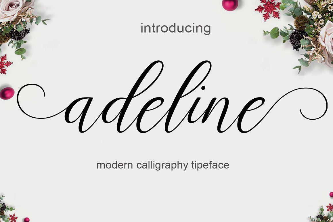 adeline Script Font - iFonts xyz