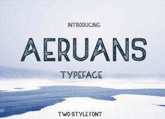 AERUANS TYPEFACE FONT