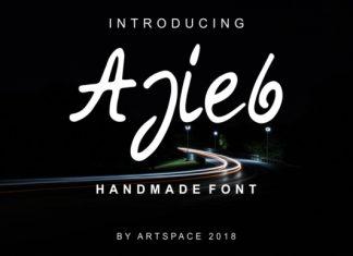 Ajieb Font