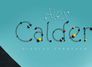 Alex Calder Font