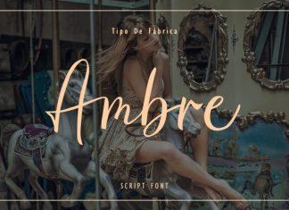 Ambre || Script Font