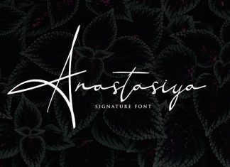 Anastasiya Elegant Signature Font
