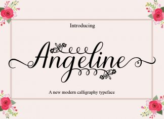 Angeline Script Font