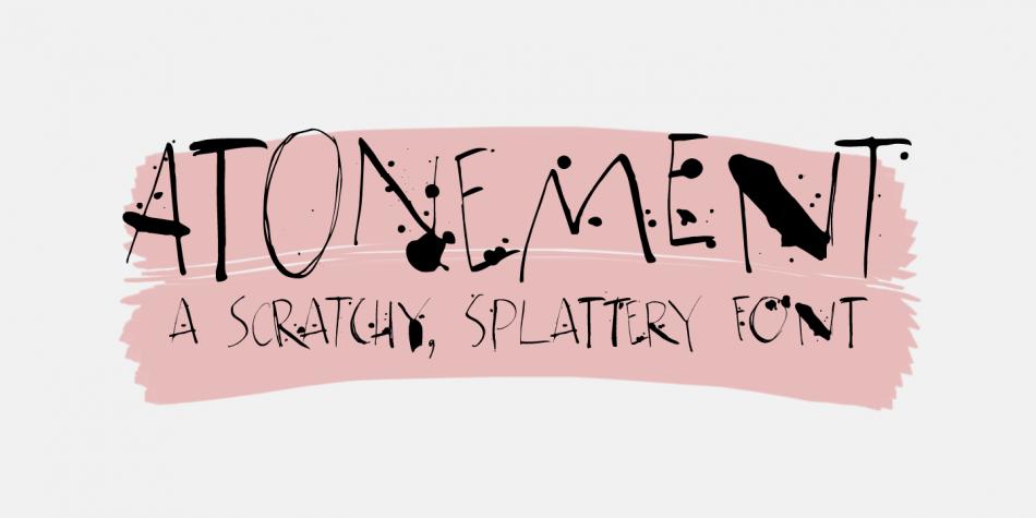 Atonement Font