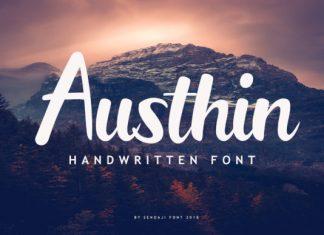 Austhin Font