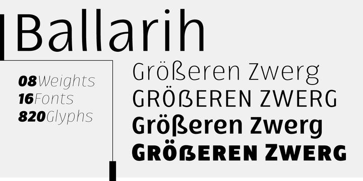 Ballarih Font Family