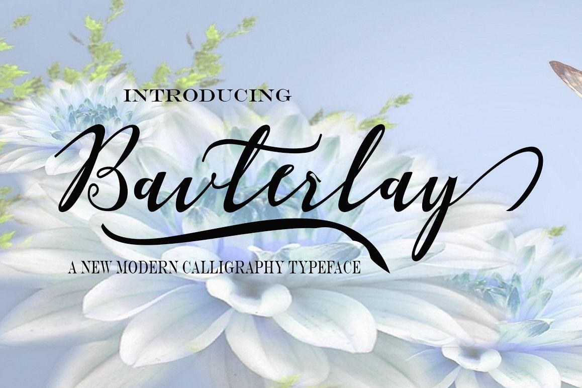 Bavterlay Script Font
