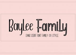 Baylee Font Family
