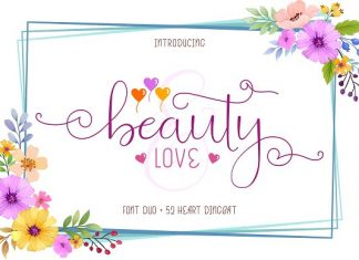 Beauty and Love - Font Duo