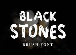 BLACK STONESRegular Font