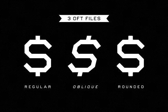 Bliss Bucket – Bold 3 Font Family