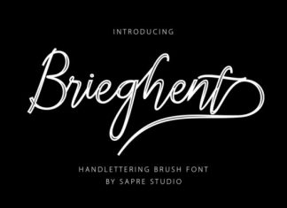 Brieghent Font