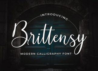 Brittensy Font