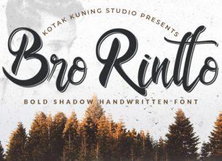 Bro Rintto Font