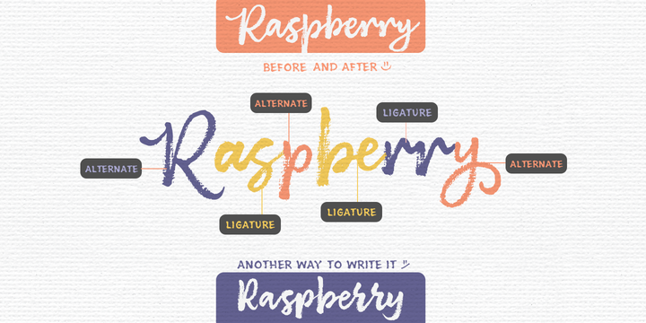 Brushberry Font Family