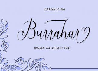 Burrahar Script Font