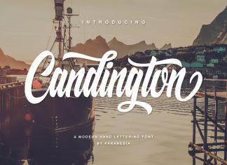 Candington Script Font