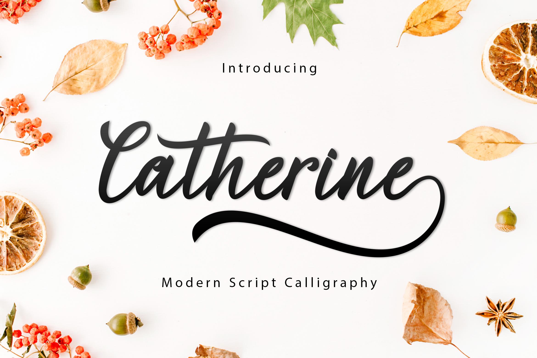 Catherine Script Font