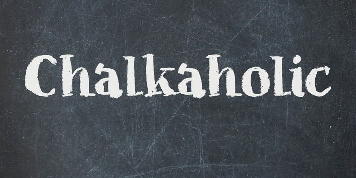 Chalkaholic Font Family