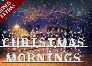 Christmas Mornings Font with Bonus ExtrasRegular Font