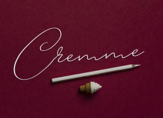Cremme Font
