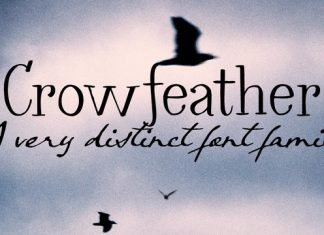 Crowfeather Font Family