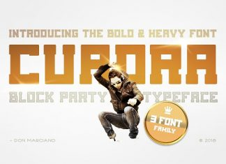 Cuadra - Block Font