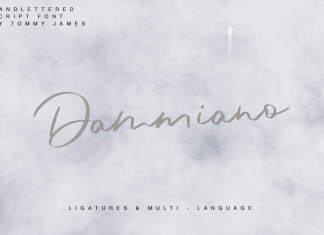 Dammiano Script Font