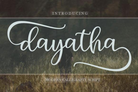 Dayatha Font