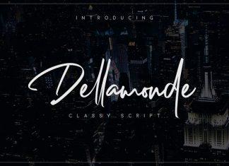 Dellamonde // Classy Script