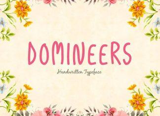 Domineers Typeface