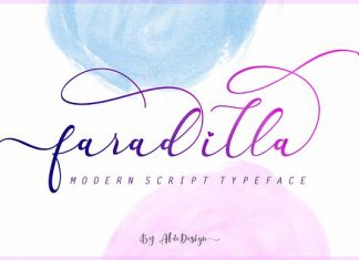 Faradilla / Beautiful Script