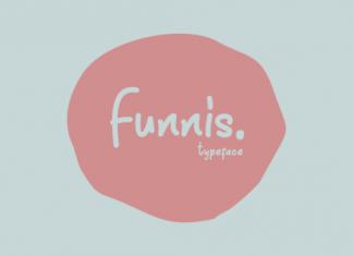 Funnis Script Font