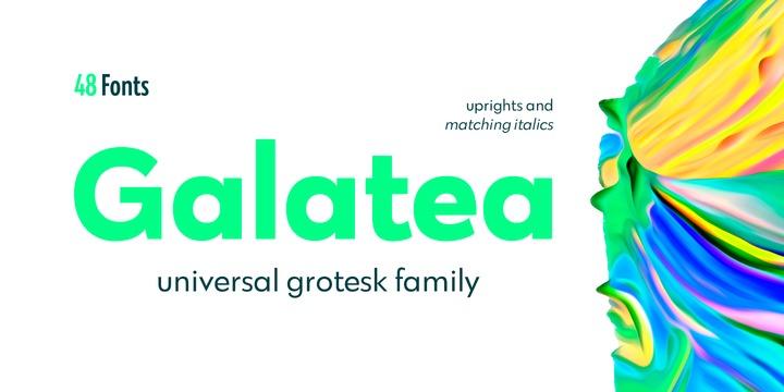Galatea Font Family