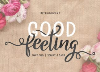 Good Feeling Duo Font