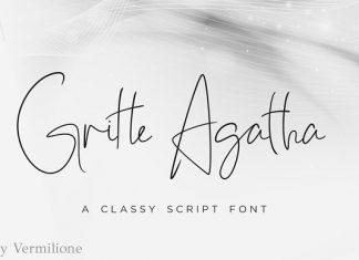 Gritte Agatha Font