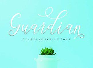 guardian SCRIPTScript Font