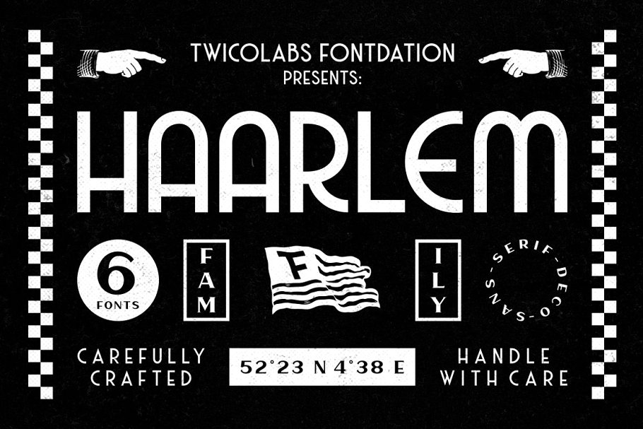 Haarlem Family | 3 in 1 Fonts