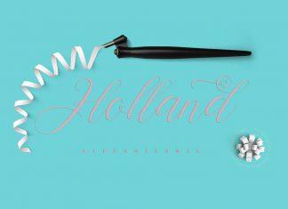 Holland Script Font