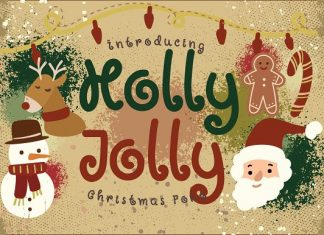 Holly Jolly Font