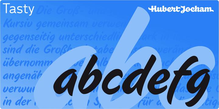 Juicy & Food Soft Font by Hubert Jocham Font